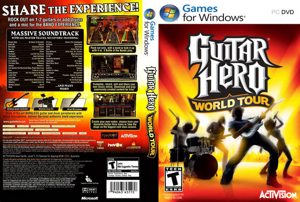 guitar hero pc free download full version